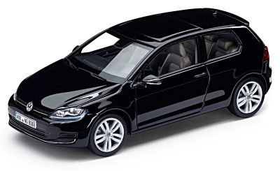 Модель автомобиля Volkswagen Golf VII 3D, Scale 1:43, Deep Black Pearl Effect