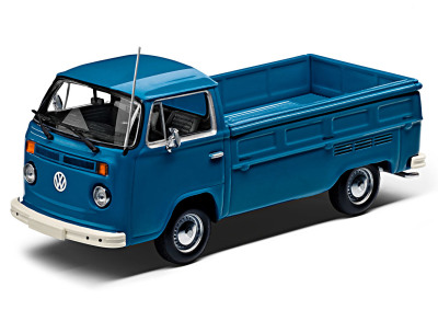 Модель автомобиля Volkswagen T2 Pick-Up, Scale 1:43, Neptune Blue