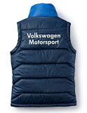 Мужской жилет Volkswagen Men's Vest Motorsport, Blue, артикул 5GV084032A530