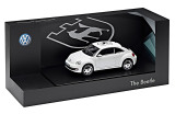 Модель автомобиля Volkswagen Beetle -Coat of Arms- Decorative Film, Scale 1:43, Candy White, артикул 5C1099300CB9A