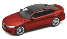 Модель автомобиля BMW M4 Купе (F82), Sakhir Orange, Scale 1:43