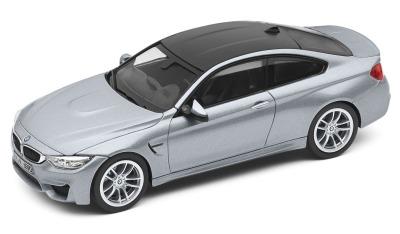 Модель автомобиля BMW M4 Купе (F82), Silverstone, Scale 1:43