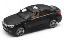 Модель автомобиля BMW X4 (F26), Sapphire Black, Scale 1:43