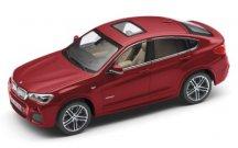 Модель автомобиля BMW X4 (F26), Melbourne Red, Scale 1:43