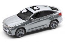Модель автомобиля BMW X4 (F26), Glacier Silver, Scale 1:43