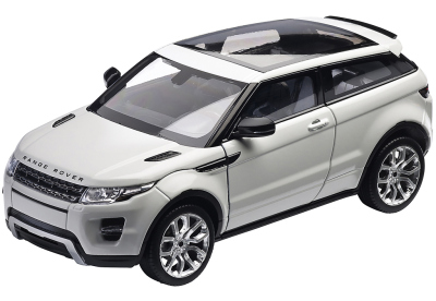 Модель автомобиля Range Rover Evoque 3 Door, Scale 1:24, Fuji White