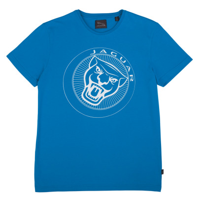Мужская футболка Jaguar Men's 'Growler' T-Shirt - Blue