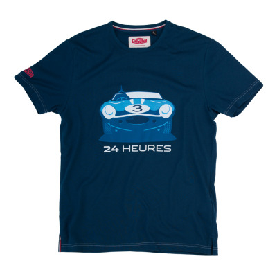Мужская футболка Jaguar Men's Heritage 57 24 Heures T-Shirt - Navy