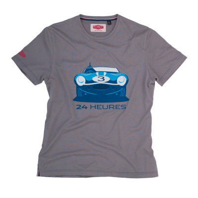Мужская футболка Jaguar Men's Heritage 57 24 Heures T-Shirt - Grey