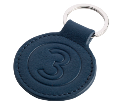 Брелок Jaguar Heritage 57 Leather Keyring - Blue
