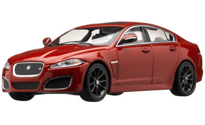 Масштабная модель Jaguar XFR 1:43 Scale Diecast Model, Italian Racing Red