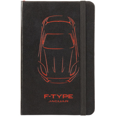 Блокнот Jaguar Small F-type Notebook Black