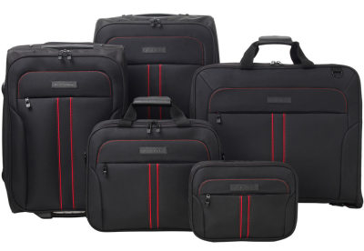 Дорожный комплект Jaguar F-type 5 Piece Luggage Set Black