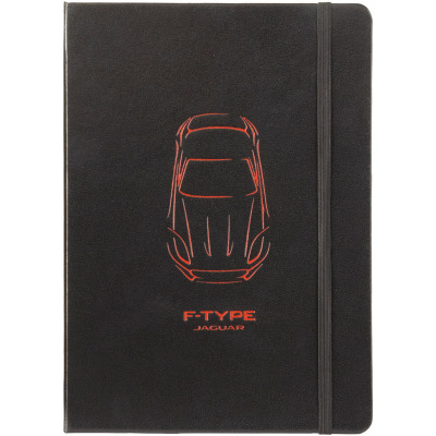 Блокнот Jaguar Large F-type Notebook Black
