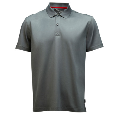 Мужская рубашка-поло Jaguar Men's Mercerized Cotton Poloshirt Grey