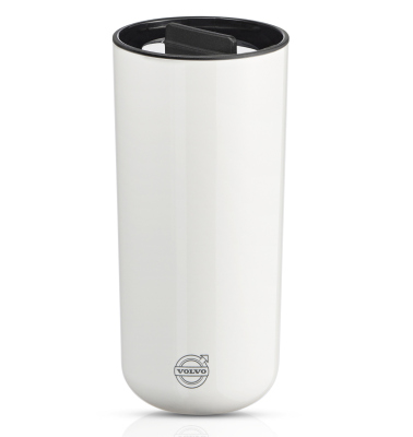 Термокружка Volvo Stelton Thermo Mug To Go White
