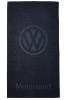 Банное полотенце Volkswagen Motorsport Bath Towel, Blue