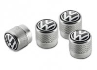 Колпачки на ниппель Volkswagen Valve Dust Caps, For Rub/Met