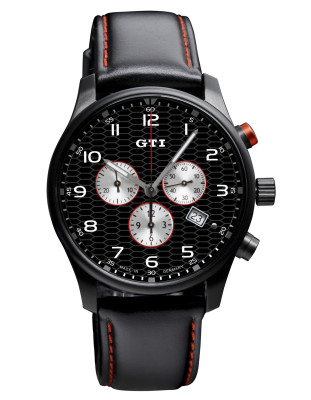 Хронограф Volkswagen GTI Chronograp Leather Black