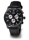 Хронограф Volkswagen GTI Chronograp Leather Black, артикул 000050830A041