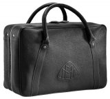 Кожаная дорожная сумка Mercedes-Maybach Travel Leather Bag, Unisex, Black