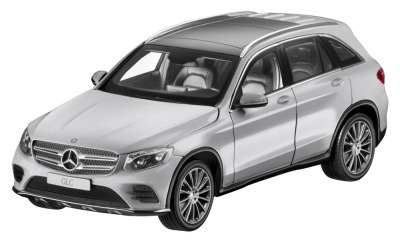 Модель Mercedes-Benz GLC (X253), Iridium Silver Metallic, 1:18 Scale