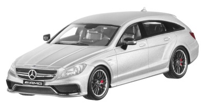 Модель Mercedes-Benz CLS 63 AMG 4Matic Shooting Brake (X218), Scale 1:43 Iridium Silver, Limited Edition