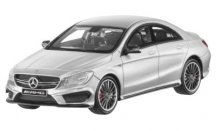 Модель Mercedes-Benz CLA 45 AMG, 4Matic (W463), Scale 1:43, Iridium Silver, Limited Edition