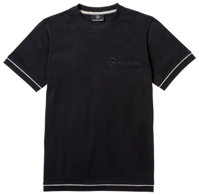 Мужская футболка Mercedes Men's T-Shirt, Basic, Black Style