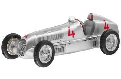 Историческая модель Mercedes-Benz W25, 1935, Monaco GP, start number 4, L. Fagioli
