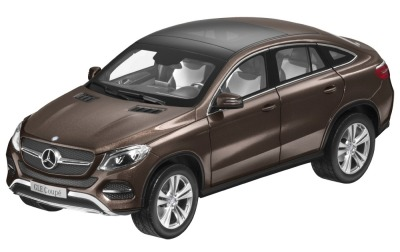 Модель Mercedes-Benz GLE Coupe (C292), Citrine Brown Metallic, 1:18 Scale