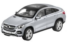 Модель Mercedes-Benz GLE Coupe (C292), Diamond Silver Metallic, 1:18 Scale