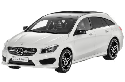 Модель Mercedes-Benz CLA, Shooting Brake (X117), Cirrus White, 1:18 Scale