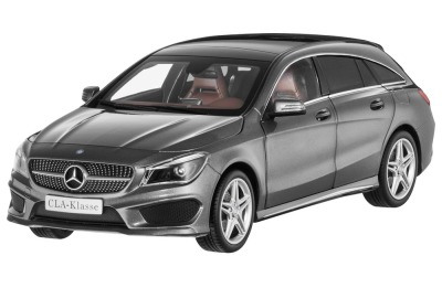 Модель Mercedes-Benz CLA, Shooting Brake (X117), Mountain Grey Metallic, 1:18 Scale