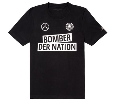 Мужская футболка Mercedes Men's T-Shirt, Bomber der Nation
