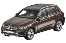 Модель Mercedes-Benz GLC (X253), Scale 1:43, Citrin Brown Metallic