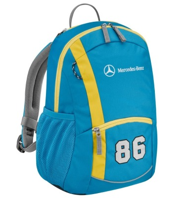 Детский рюкзак Mercedes-Benz kid's Backpack, Blue-Yellow