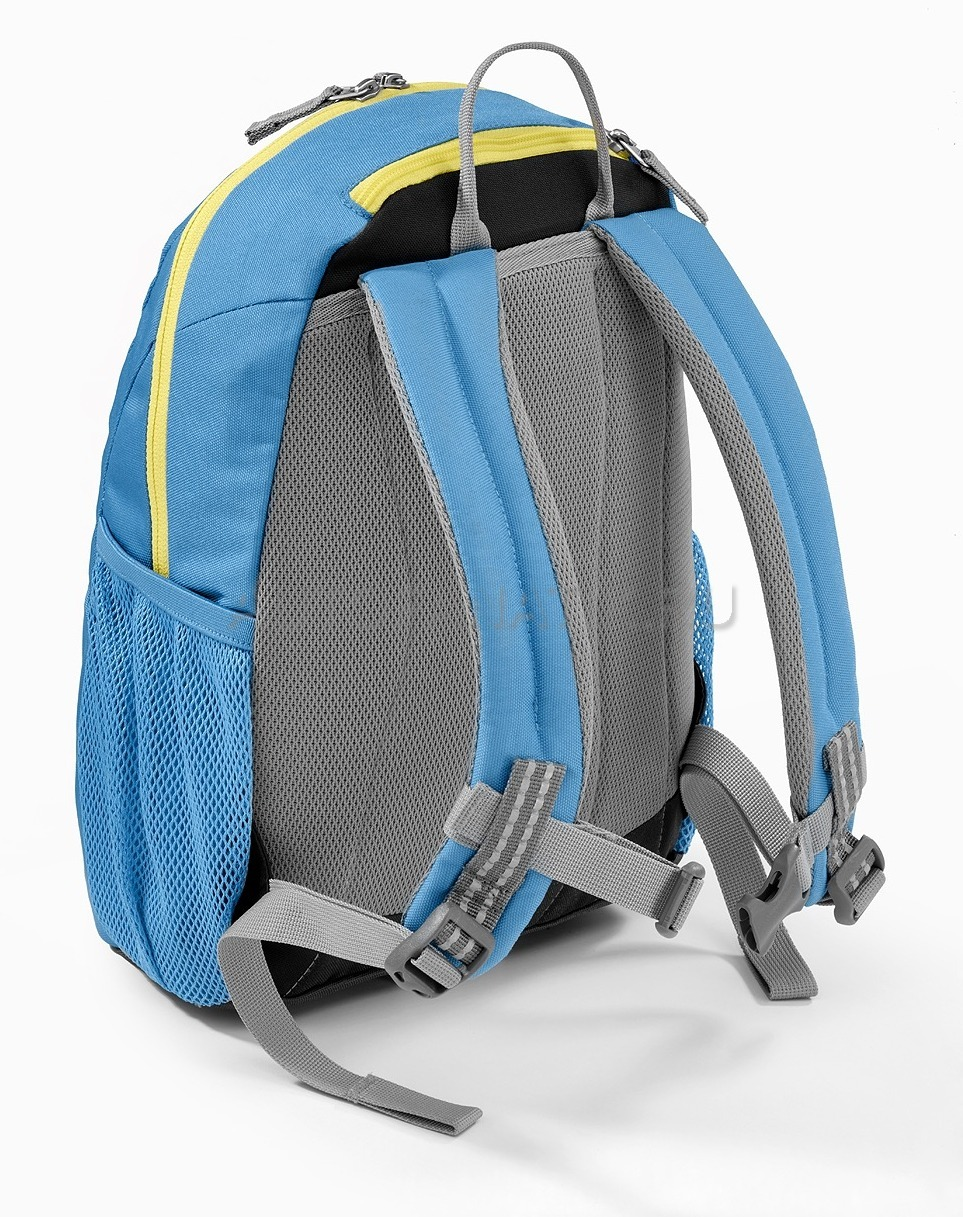 Mercedes benz kid 39 s backpack blue yellow for Mercedes benz backpack