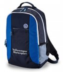 Рюкзак Volkswagen Motorsport Backpack, Black-Blue