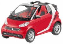 Модель Smart Fortwo Cabriolet, Scale 1:43, Red