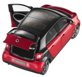 Модель Smart Forfour Prime, Scale 1:18, Black-Red, артикул B66960300