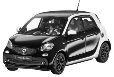 Модель Smart Forfour Passion, Proxy, Scale 1:43, Black-White