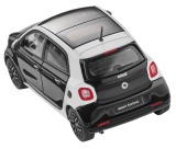Модель Smart Forfour Passion, Proxy, Scale 1:43, Black-White, артикул B66960296