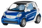 Модель Smart Fortwo Coupé, Proxy, Scale 1:43, Blue-White Metallic