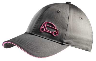 Женская бейсболка Smart Fortwo Ladies Baseball Cap, Grey-Pink