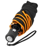 Складной зонт Smart Compact Umbrella, Black-Orange, артикул B67993588