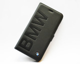 Кожаный чехол BMW iPhone 5/5s Logo Signature Booktype Black, артикул J5200000041