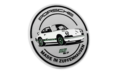 Эмблема на решетку радиатора Porsche Grill Badge - RS 2.7 Collection