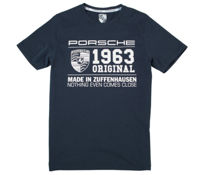 Футболка унисекс Porsche Unisex Fan T-Shirt, 1963 Original - Essential Collection