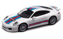 Модель автомобиля Porsche 911 Carrera S Aerokit Cup Martini Racing, White